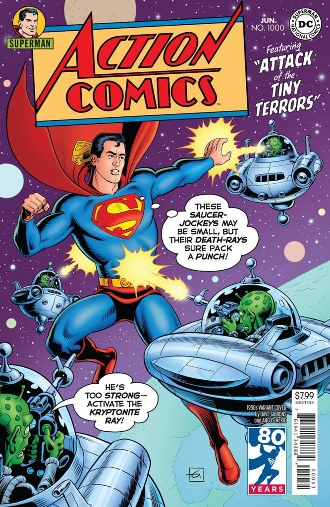 "Action Comics (2016 Series) #1000 (Variant ""1950's"" Cover - Dave Gibbons)"