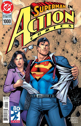 "Action Comics (2016 Series) #1000 (Variant ""1990's"" Cover - Dan Jurgens)"