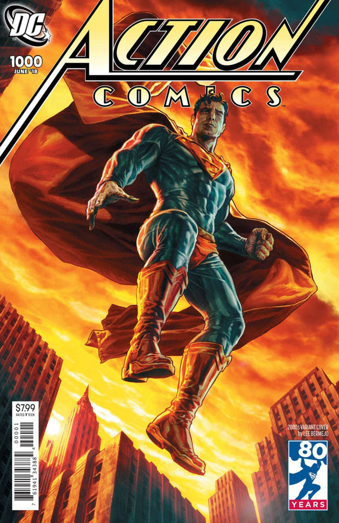 "Action Comics (2016 Series) #1000 (Variant ""2000's"" Cover - Lee Bermejo)"