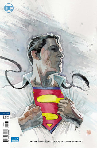 "Action Comics (2016 Series) #1001 (Variant ""Artist"" Cover - David Mack)"