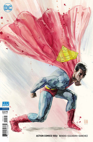 "Action Comics (2016 Series) #1002 (Variant ""Artist"" Cover - David Mack)"