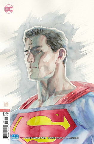 "Action Comics (2016 Series) #1003 (Variant ""Artist"" Cover - David Mack)"