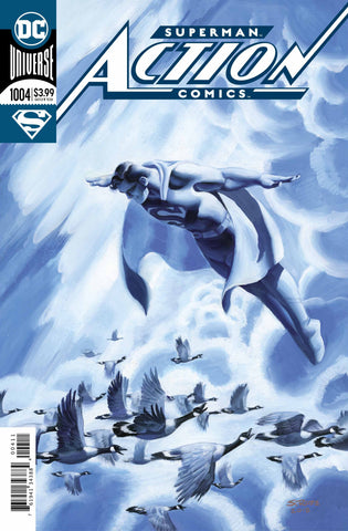 Action Comics (2016 Series) #1004 (Regular Foil Cover - Steve Rude)
