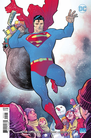 Action Comics (2016 Series) #1005 (Variant Cover - Francis Manapul)
