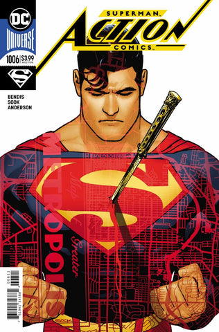Action Comics (2016 Series) #1006 (Regular Cover - Ryan Sook)