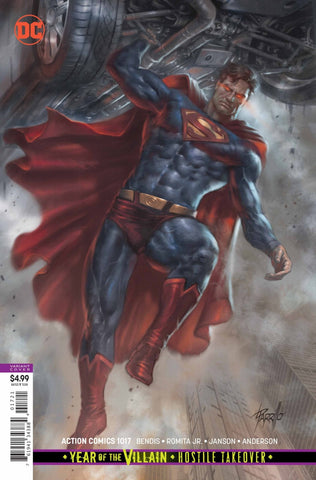 "Action Comics (2016 Series) #1017 (Variant ""Year of the Villain"" Card Stock Cover - Lucio Parrillo)"