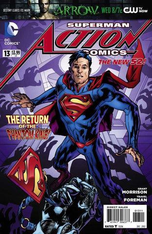 Action Comics (2011 series) #13-18 [SET] — Volume 03: End of Days (All Regular Covers)