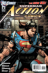 Action Comics (2011 series) #01-8 [SET] — Volume 01: Men of Steel