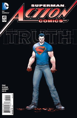 Action Comics (2011 series) #41 (A Multi-Title Crossover) [SET] — Volume 08: Truth; The Complete Saga