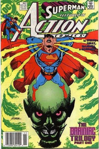 Action Comics (1938 series) #647-649 [SET] — The Braniac Trilogy