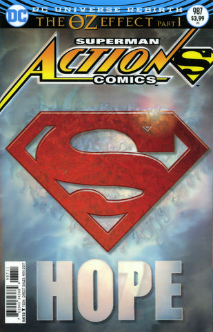 "Action Comics (2016 series) #987-991 [SET] — Volume 05: The OZ Effect (All Variant ""3-D"" Lenticular Covers)"