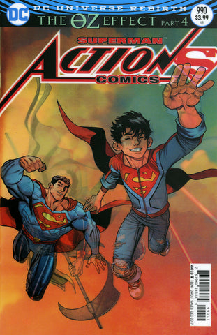 "Action Comics (2016 Series) #990 (Variant""3-D"" Lenticular Cover - Nick Bradshaw)"