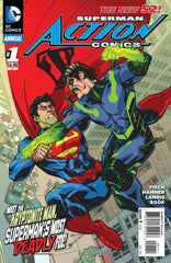 Action Comics (2011 series) #09 (A Multi-Title Crossover) [SET] — Volume 02: Bulletproof (All Regular Covers)