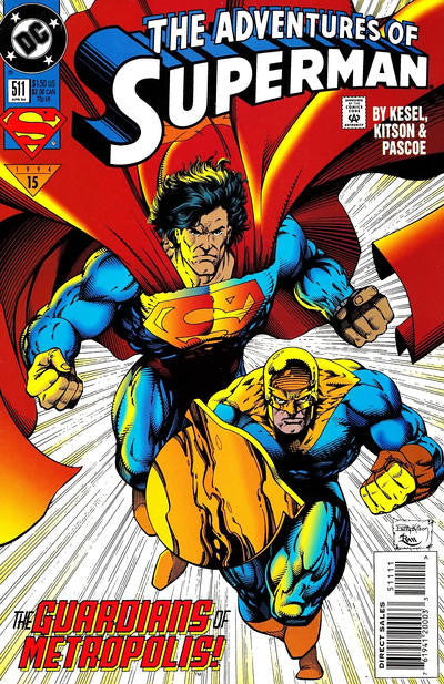 Adventures of Superman (1987 series) #511 (A Multi-Title Crossover) [SET] — Power Surge