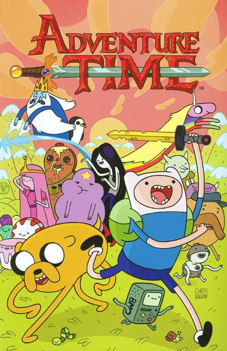 Adventure Time Volume 02 Trade Paperback (2012)
