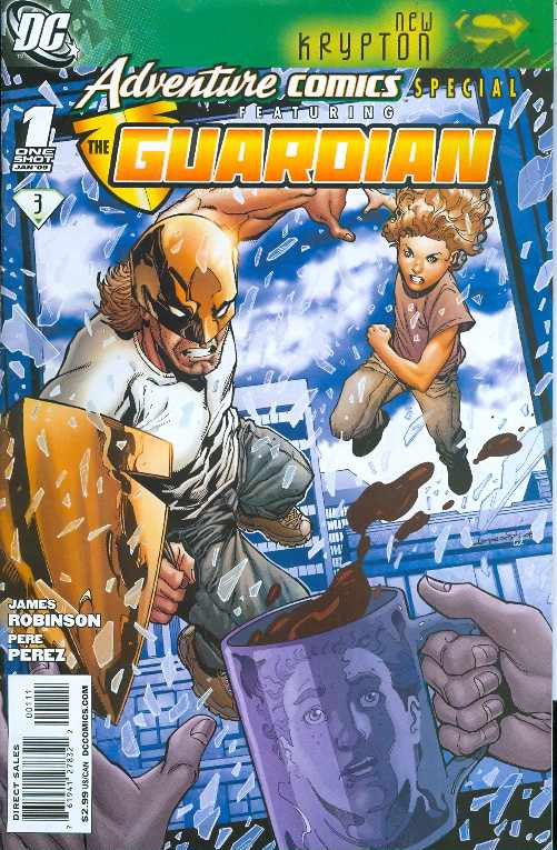 Adventure Comics Special: Featuring The Guardian (2009 One-Shot) #1