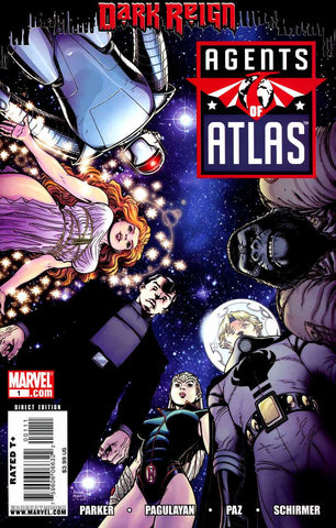 Agents of ATLAS (2009 series) #01-5 [SET] — Volume 01: The Dragon's Corridor