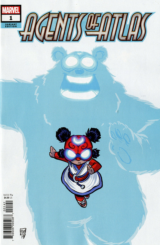 "Agents of ATLAS (2019 mini-series) #1 (of 5) (Variant ""Baby"" Cover - Skottie Young)"