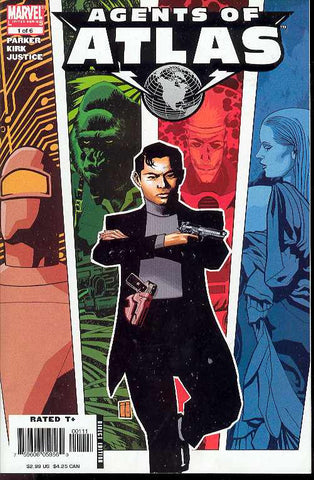 Agents of ATLAS (2006 mini-series) #1-6 [SET] — Volume 00: The Golden History