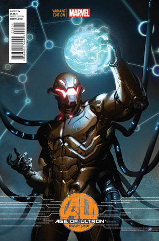 "Age of Ultron (2013 Mini-Series) #1 (Variant Incentive ""Ultron"" Cover - Marko Djurdjevic)"