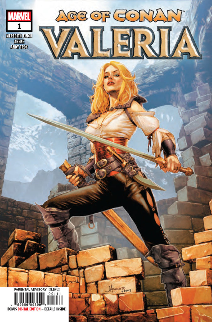 Age of Conan (2019 mini-series) #1-5 [SET] — Valeria (All Regular Covers)