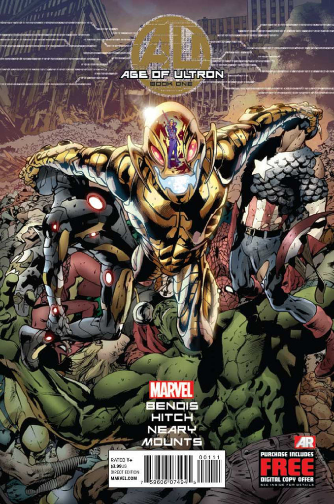 Age of Ultron (2013 mini-series) #1-10 + Crossover Issues [SET] — Ultron Rules; The Complete Saga (All Regular Covers)