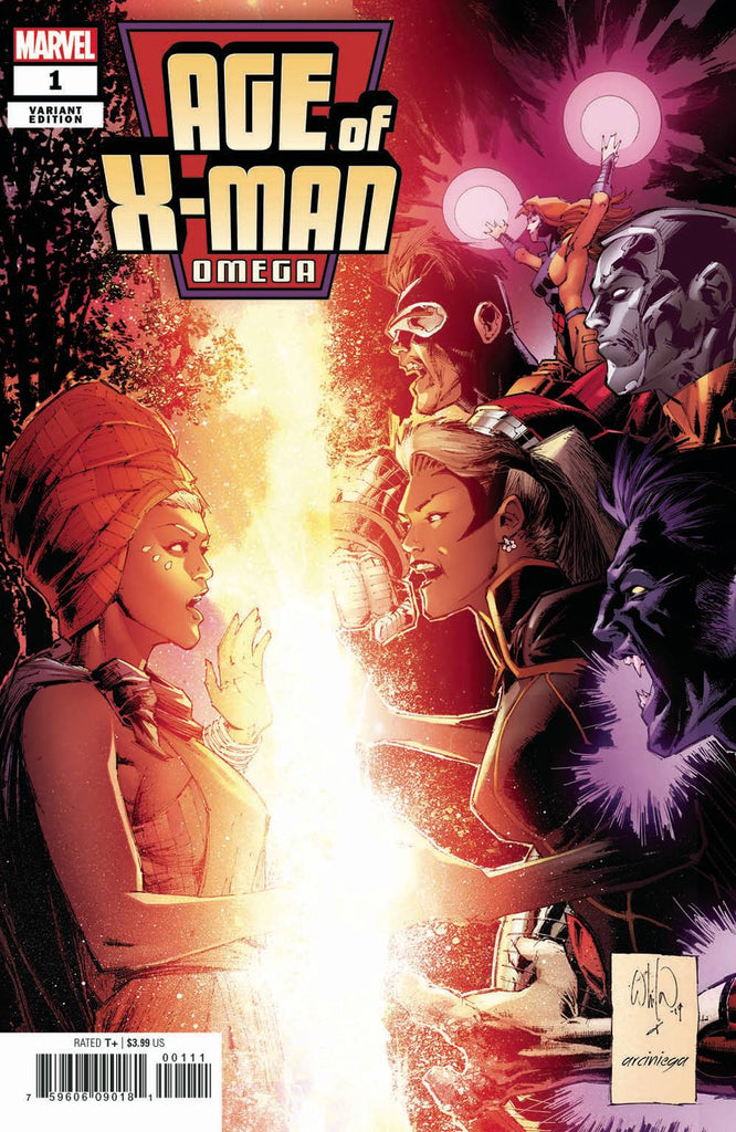 "Age of X-Man: Omega (2019 one-shot) #1 (Variant ""Artist"" Cover - Whilce Portacio)"