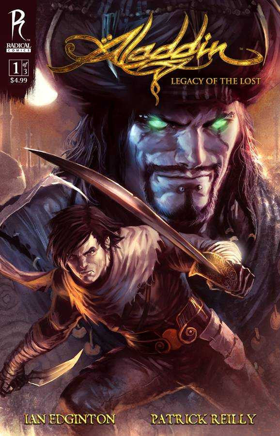"Aladdin (2009 mini-series) #1-3 [SET] — Volume 01: Legacy of the Lost (All Regular ""A"" Covers)"