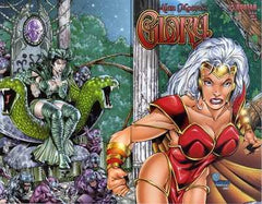 Alan Moore's Glory (2001 mini-series) #0-2 [SET] — The Seventh Dagger (All Variant Covers)