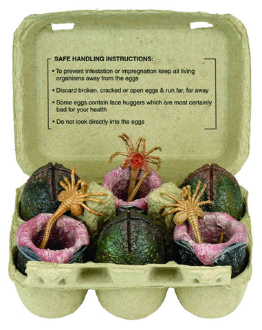 Alien (Film) – Xenomorph Egg Set in Carton