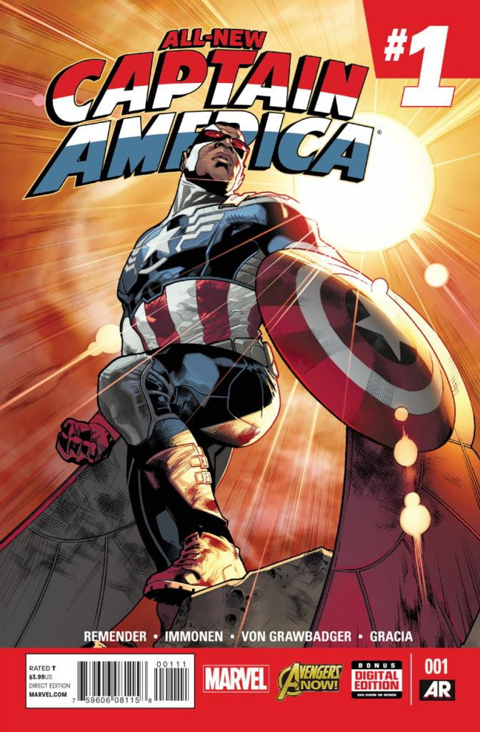 All-New Captain America (2014 Series) #1