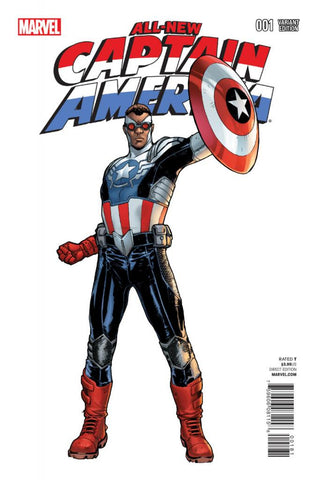 All-New Captain America (2014 Series) #1 (Variant Incentive Cover - Sara Pichelli)