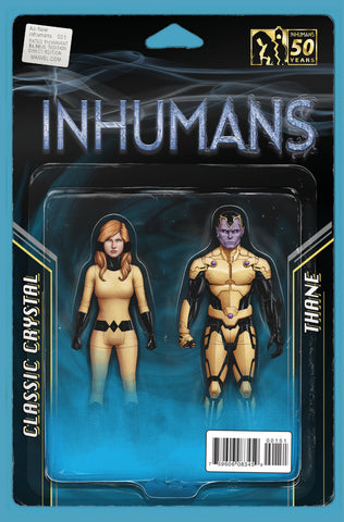 "All-New Inhumans (2015 Series) #1 (Variant ""Action Figure"" Cover - John Tyler Christopher)"