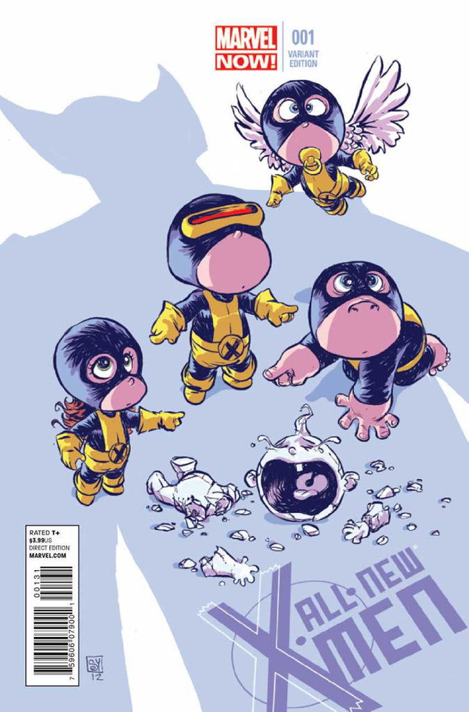 "All-New X-Men (2012 Series) #1 (Variant ""Baby"" Cover - Skottie Young)"
