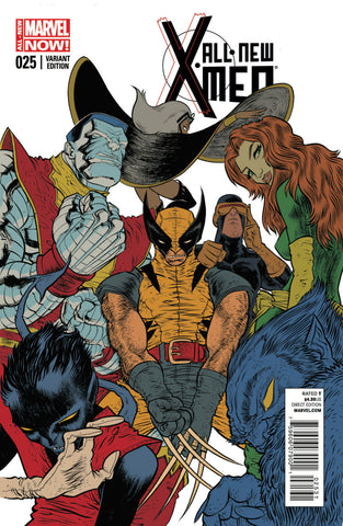 All-New X-Men (2012 Series) #25 (Variant Incentive Cover - Rafael Grampa)