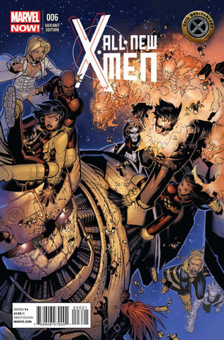 "All-New X-Men (2012 Series) #6 (Variant ""50th Anniversary of the X-Men"" Cover - Chris Bachalo)"