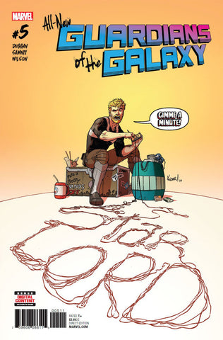 All-New Guardians of the Galaxy (2017 Series) #5 (Regular Cover - Aaron Kuder)