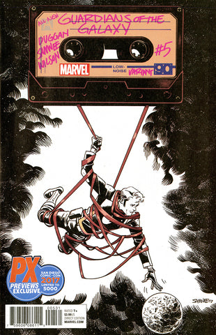 All-New Guardians of the Galaxy (2017 Series) #5 (Variant SDCC 2017 B&W Cover - Chris Samnee)