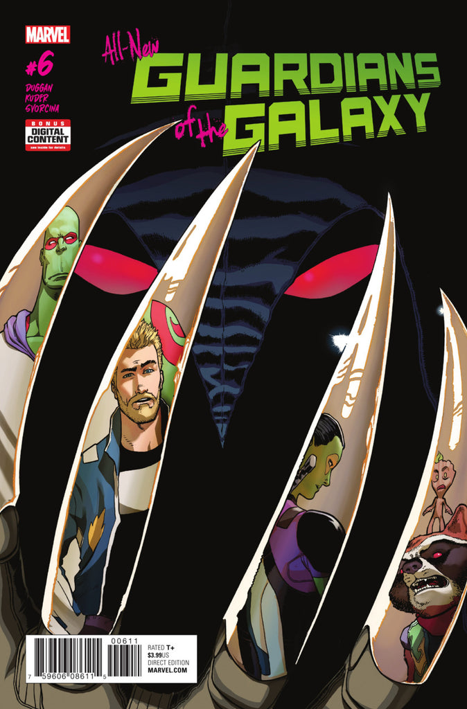 All-New Guardians of the Galaxy (2017 Series) #6 (Regular Cover - Aaron Kuder)