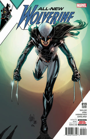 All-New Wolverine (2015 Series) #19 (Variant 2nd Printing Cover - Adam Kubert)