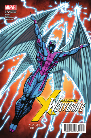 "All-New Wolverine (2015 Series) #22 (Variant ""X-Men Card"" Cover - Jim Lee)"