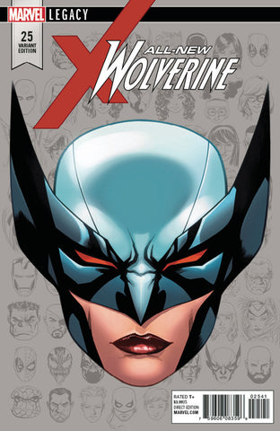 "All-New Wolverine (2015 Series) #25 (Variant Incentive ""Legacy Headshot"" Cover - Mike McKone)"