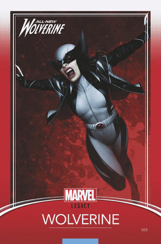"All-New Wolverine (2015 Series) #25 (Variant ""Trading Card"" Cover - John Tyler Christopher)"