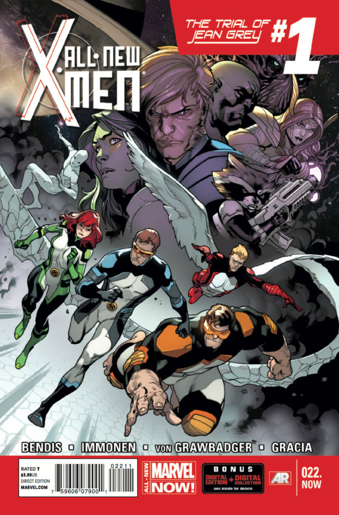 X-Men (2012 series) #22 (A Multi-Title Crossover) [SET] — Volume 05: The Trial of Jean Grey