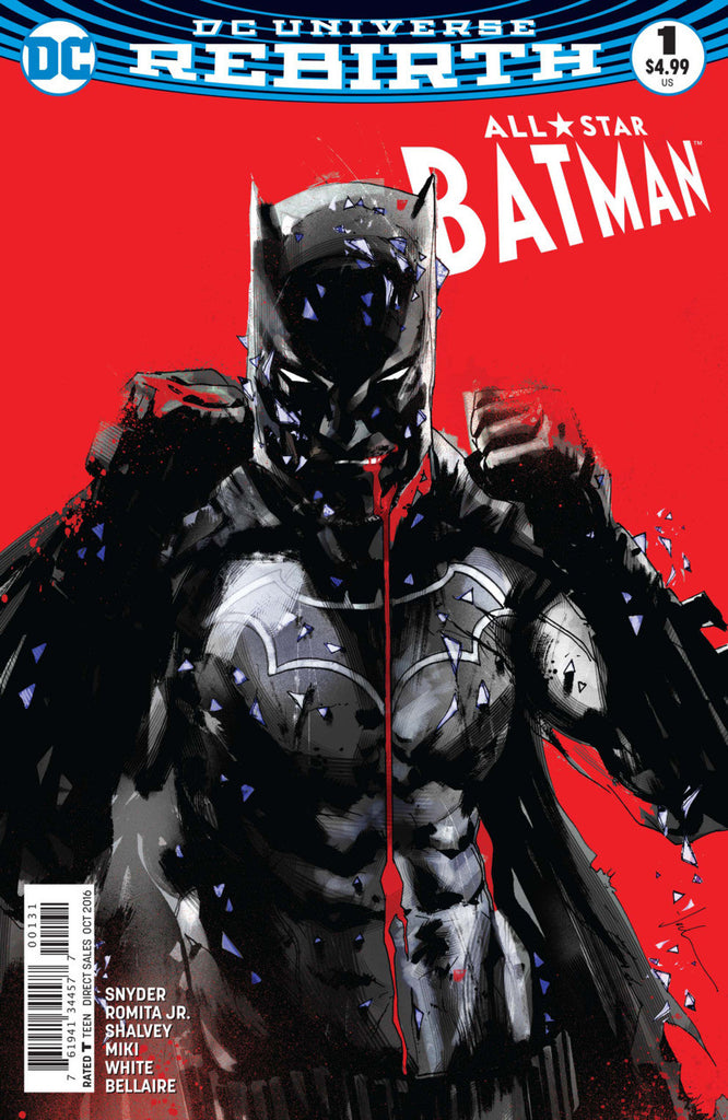 All-Star Batman (2016 series) #01-5 [SET] — Volume 01: My Own Worst Enemy (All Variant Jock Covers)