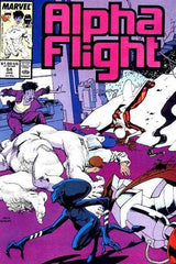 Alpha Flight (1983 series) #51-55 [SET] — Volume 09: Friends in High Places
