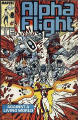 Alpha Flight (1983 series) #56-62 [SET] — Volume 10: Liveworld