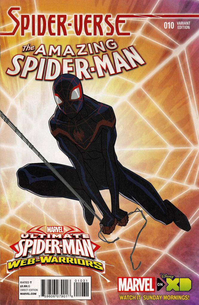 "Amazing Spider-Man (2014 Series) #10 (Variant Incentive ""Marvel Animation"" Cover - Jeff Weymester)"