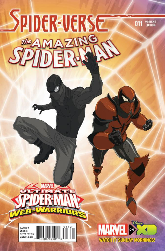 "Amazing Spider-Man (2014 Series) #11 (Variant Incentive ""Marvel Animation"" Cover - Jeff Waymester)"