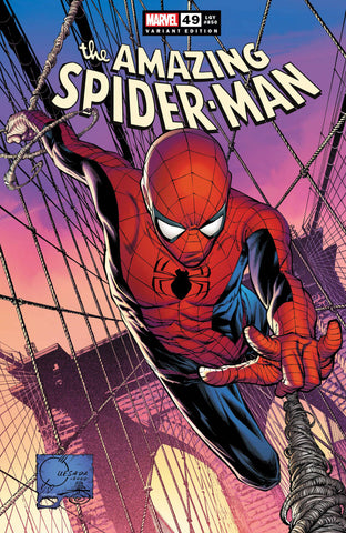 Amazing Spider-Man (2018 series) #49 (Variant Incentive Cover - Joe Quesada)